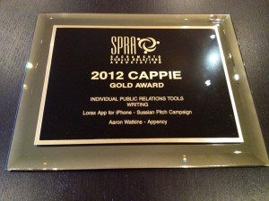 2012 CAPPIE