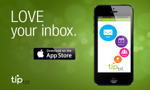 Tipbit's smarter email system is now available for download from the iTunes App Store