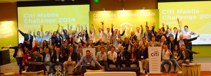 Citi Mobile Challenge participants